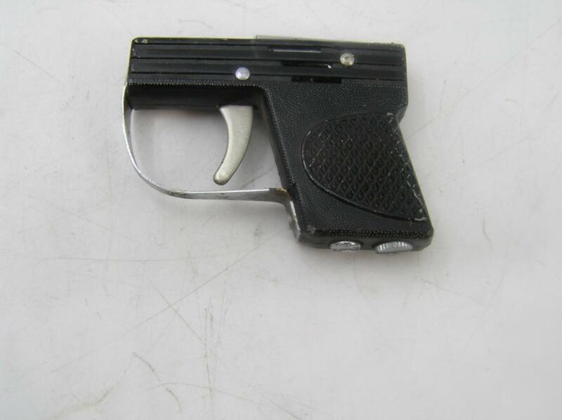 "VINTAGE 2"" MINI GUN CIGARETTE LIGHTER-JAPAN-UNTESTED-SPARKS-VERY NICE-COOL"