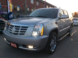 2012 Cadillac Escalade ESV Backup-cam/Leather /Sunroof /EXTRA CL