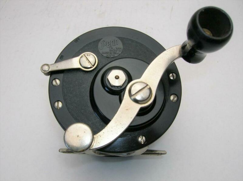 OLD PENN NO. 79 Sea Mate REEL wooden knob handle