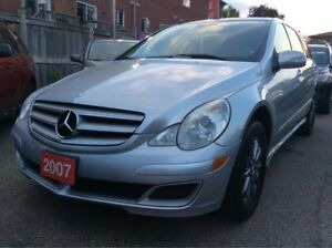 2007 Mercedes-Benz R-Class LOW KMs 156K/Navi/Panorama Roof/Leath
