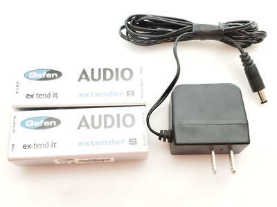 Gefen Digital Audio ex-tend-it Audio Extender  CAT5 Sender and Receiver