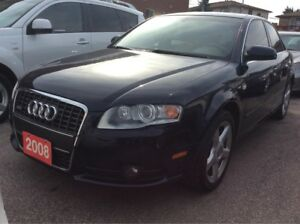 2008 Audi A4 LOW KMs 154K 2.0T/AWD/Heated Leather Seat/Sunroof