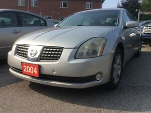 2004 Nissan Maxima LEATHER HEATED SEATS/SUNROOF/ALLOYS/LOADED
