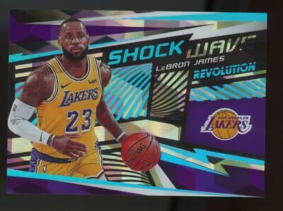 2019 Panini Revolution Shock Wave Cubic #2 LeBron James 31/50