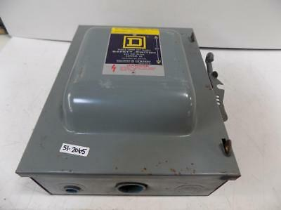 Square D 60amp Type 1 Safety Switch Series E2 82262