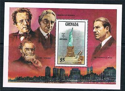 Grenada 1986 Statue of Liberty MS SG 1479 MNH