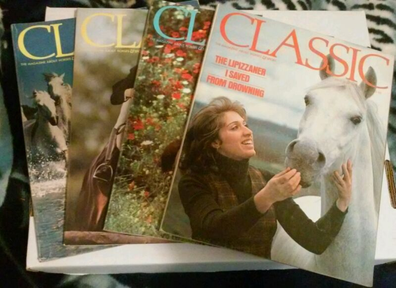 Lot 4 Classic the Magazine about horses 1976-77-78 Vintage