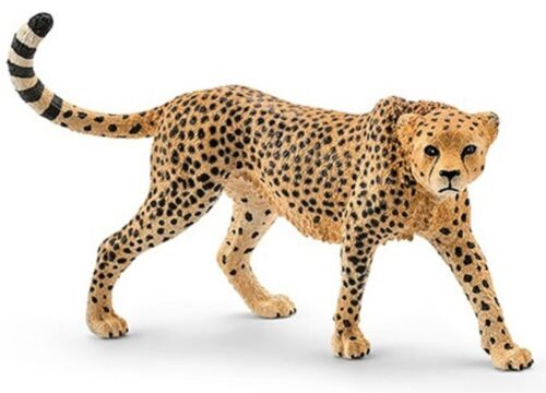 <><  14746 Cheetah Female  Sweet strong Schleich Anywheres a Playground