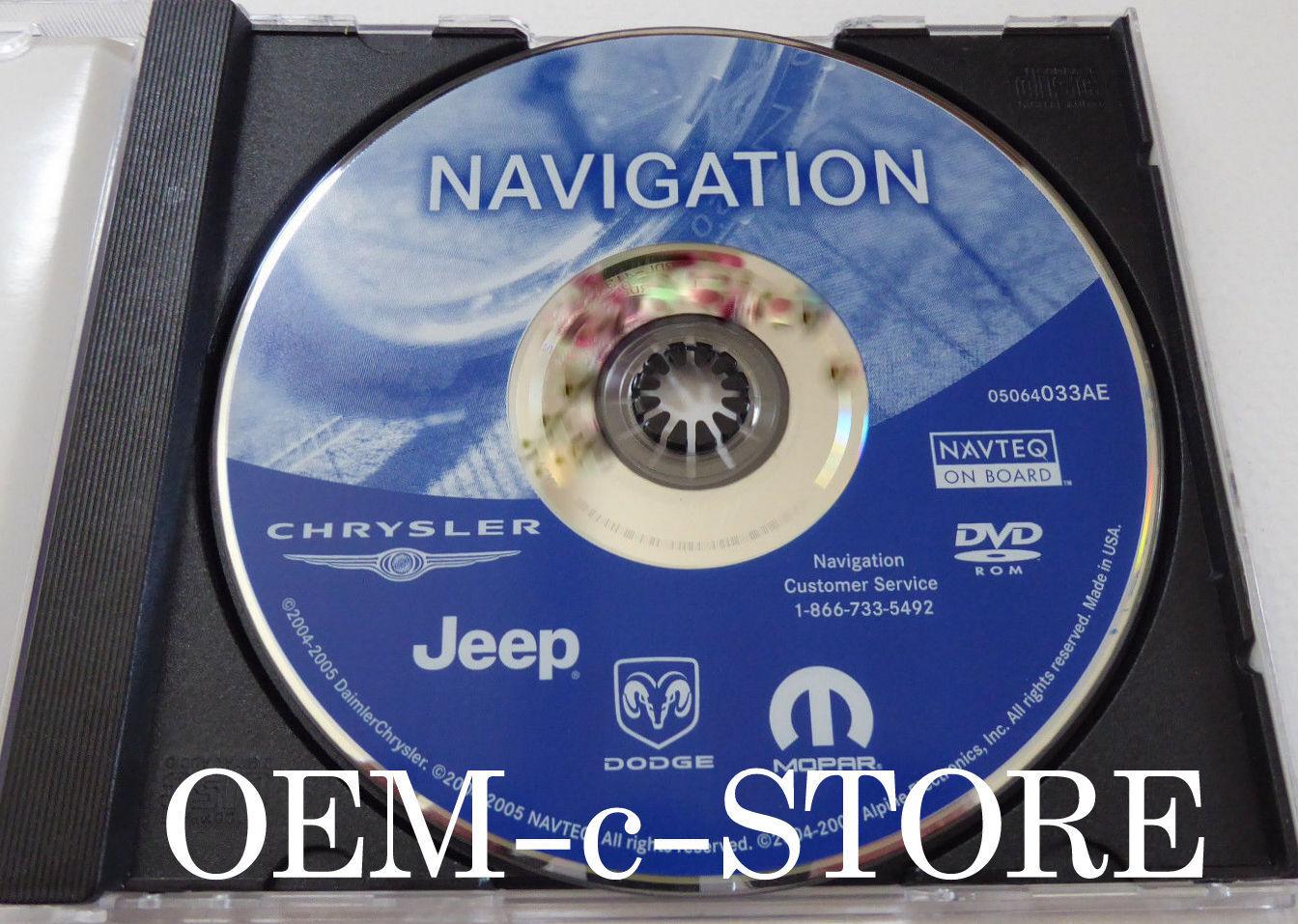 Only 2009 Dodge RAM Truck Heavy Duty 2500 3500 REC Navigation Radio DVD Map AE