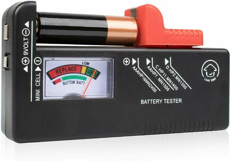 battery tester checker monitor for aaa aa