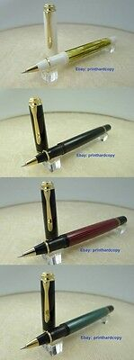 New Logo Black Red Green White Tortoise Pelikan R400 Rollerball Pen