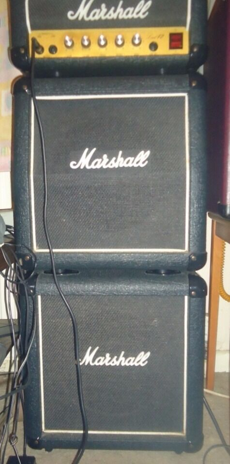 marshall lead 12 vintage 1980s mini stack in downend bristol gumtree. Black Bedroom Furniture Sets. Home Design Ideas