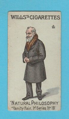 HUMOUR  -  WILLS  -  SCARCE VANITY FAIR SERIES CARD - 1ST SERIES NO. 19  -  1902