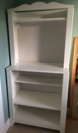 Ikea Hensvik dresser unit with attachable baby changing shelf