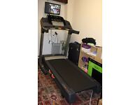 """Nordic Track T13.0 Treadmill & 22"""" TV!"""