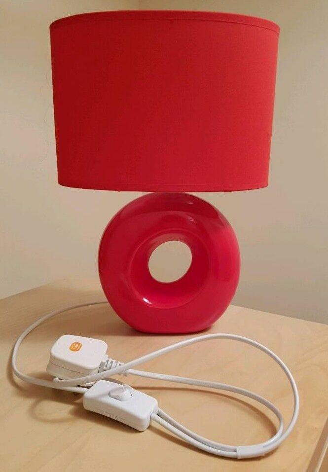 Stylish Red Lamp