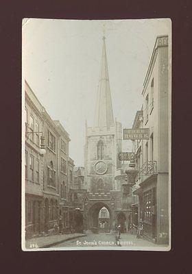 Glos Gloucestershire BRISTOL St John's Church Used 1905 RP PPC