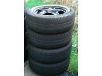 "Insignia steel 17"" wheels"