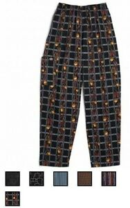NWT-Dickies-CW050101-Cotton-Baggy-Boxer-Band-Drawstring-Kitchen-Chef-Pants-XS-3X