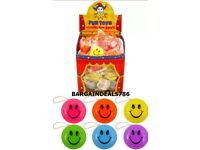 12x SMILEY FACES YOYOS RETURN TOP WITH PARTY BAG FILLERS PINATAS BOYS & GIRLS