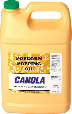 Paragon Canola Popcorn Popping Oil Gallon