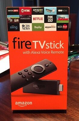 Brand New Sealed Amazon Fire Tv Stick With Alexa Voice Remote  Gen 2