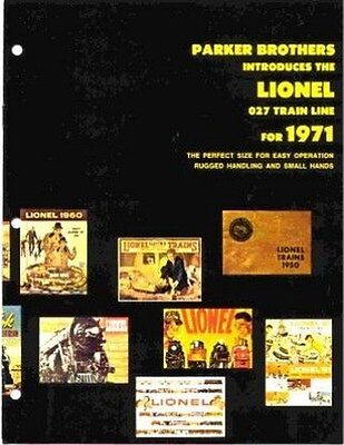 1971 LIONEL TRAINS CANADIAN CATALOG FULL SIZE