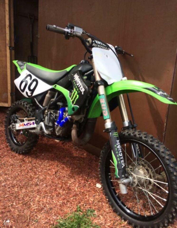 Kawasaki 85Cc Dirt Bike For Sale - David Batty: The Garage