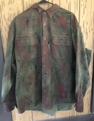 Jason Voorhees Bullet Shirt Custom Hand Painted Costume -high Quality- 4xl - Customized Costumes