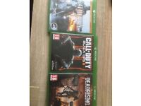 3 Xbox one games in good condition