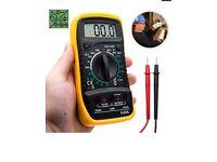 Digital LCD multi meter voltmeter Ammeter AC DC OHM circuit checking tester checker buzzer
