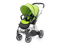 Baby pram stroller travel cot bed newborn toddler full system