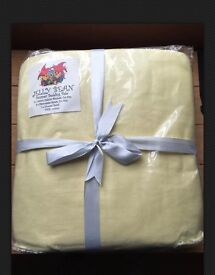 Cot Size Bedding Bale 60x120cm - Yellow By Jelly Bean
