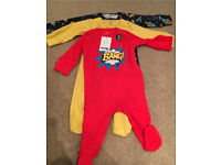 3 pack unused Next sleepsuits
