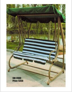 ** NEW 3 SEATER OUTDOOR SWING **