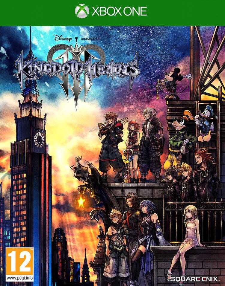 Kingdom Hearts Iii (3) Xbox One
