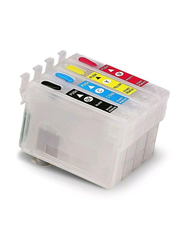 Refill Ink Cartridge For Epson#124 WorkForce 320 323 325 435 NX127 NX430