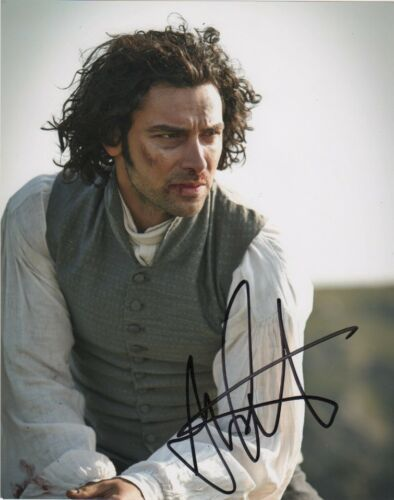 Aidan Turner Poldark Autographed Signed 8x10 Photo COA #J4