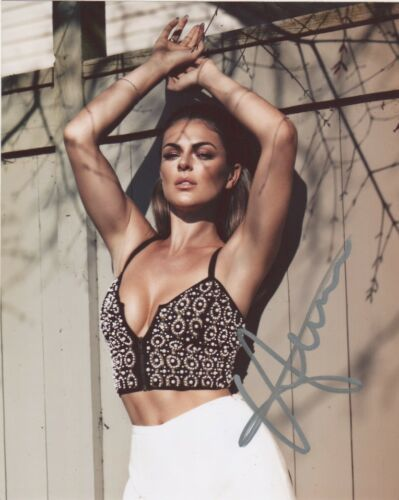 Serinda Swan Sexy Autographed Signed 8x10 Photo COA #5