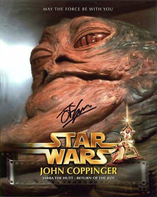 John Coppinger Photo Signed In Person - Special Effect in Star Wars - E485
