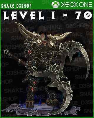 Diablo 3 Xbox One   Fully Modded Set Barbarian Wastes   Level 1   70