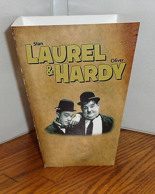 Laurel Hardy Popcorn Box 1. Signature.....free Shipping