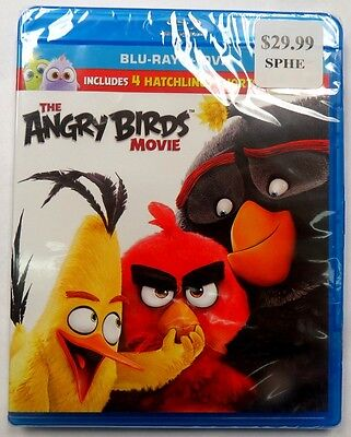 The Angry Birds Movie [Blu-ray] DVD NEW