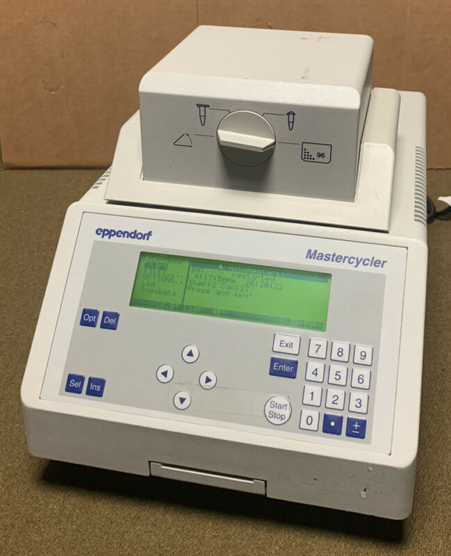 Eppendorf Mastercycler 5333 Thermal Cycler 96 Wells 115V & Power Cord