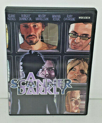 A Scanner Darkly (DVD, 2006 Widescreen+Standard) Keannu Reeves Robert Downey Jr