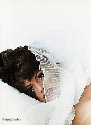 1960s Vintage FASHION FEMALE Eyes Woman Portrait 16x20 Photo Art ~ WINGATE PAINE