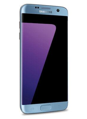 Samsung Galaxy S7 Edge - G935S 5,5 Zoll Smartphone Blau 64GB Speicher Android 7