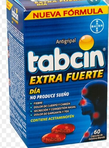 Tabcin Dia 60 gel capsules,  cough,  cold, fever