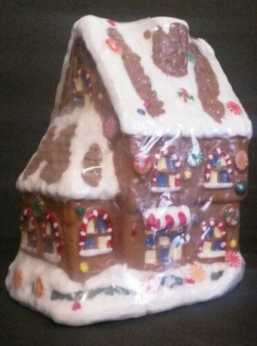 Candle, Vintage, Gingerbread House (Large)
