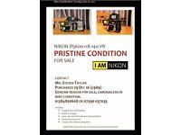 Nikon D5600 24.0MP Digital SLR Camera - Black (Kit w/ AF-S VR 18-140mm Lens)